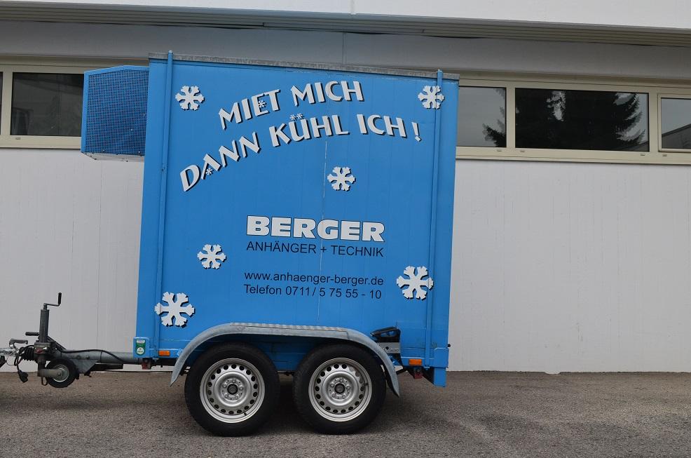 Mietanhänger, Kühl-Anhänger-Vermietung Fellbach